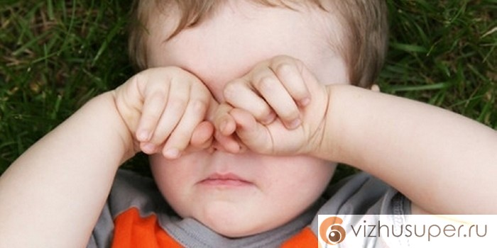 ячмень на глазу - лечение у детей
