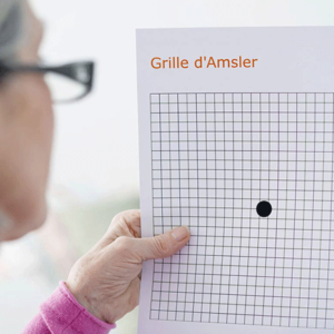 тест амслера для глаз