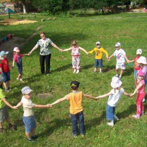 Подвижные игры для детей с нарушением зрения