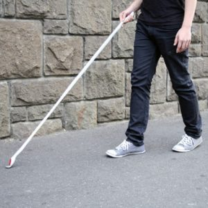 Трость для слепых и слабовидящих
