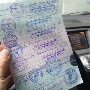 Допуск по зрению на водительские права категории в
