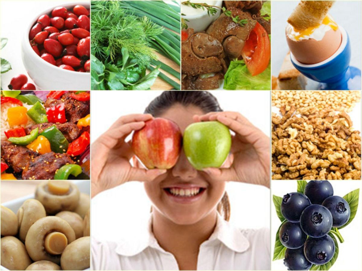 Как сохранить зрение: основы питания и продукты для глаз
